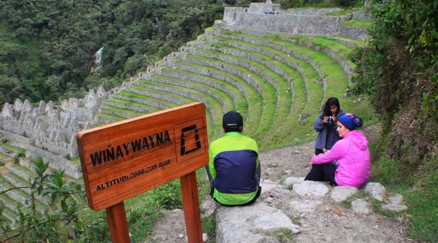 Winaywayna: le rovine