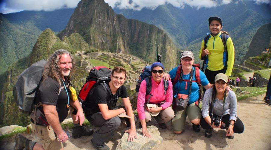 Foto ricordo a Machu Picchu