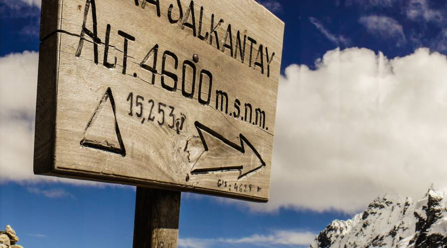 Il trekking si svolge in altitudine!