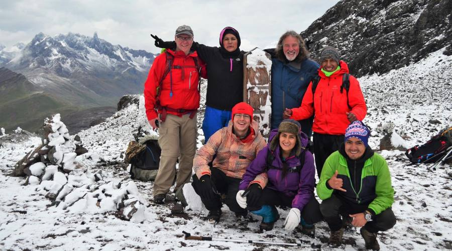 Passo Palomani a 5200 metri
