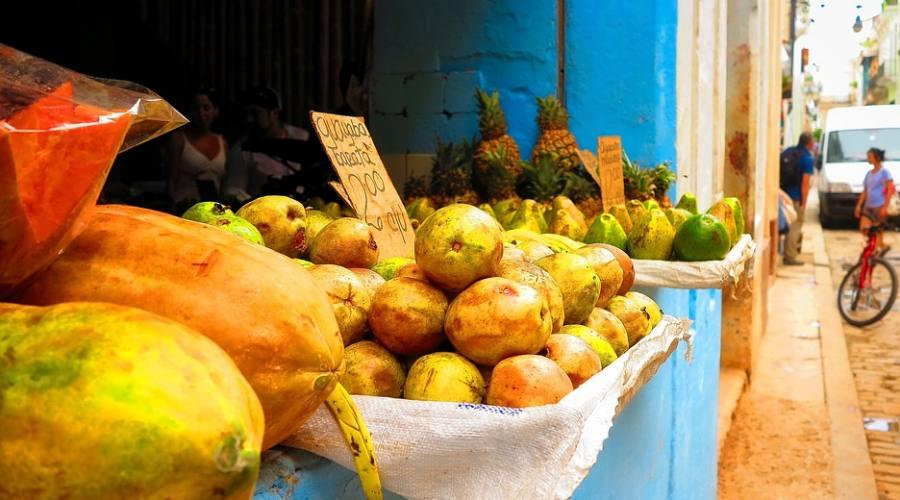 Mercato a Trinidad