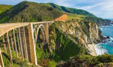 La costa Californiana in tour di gruppo
