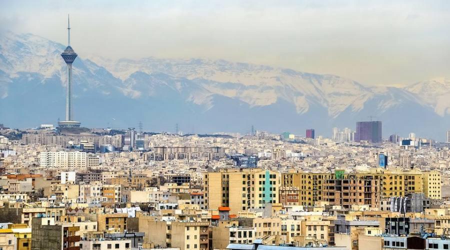 Veduta di Teheran dalla Torre Azadi - Iran