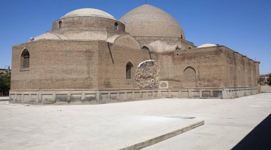 La moschea di Tabriz