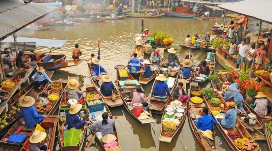 Marché flottant du Damnoen saduak