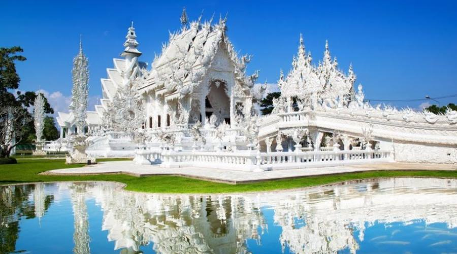 Wat Rong Khun (Temple blanc)