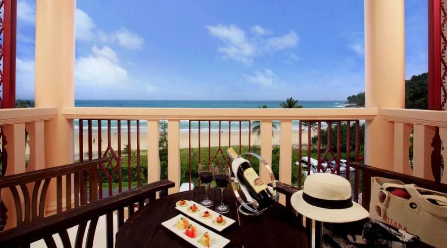 Chambre de luxe avec vue sur l'océan