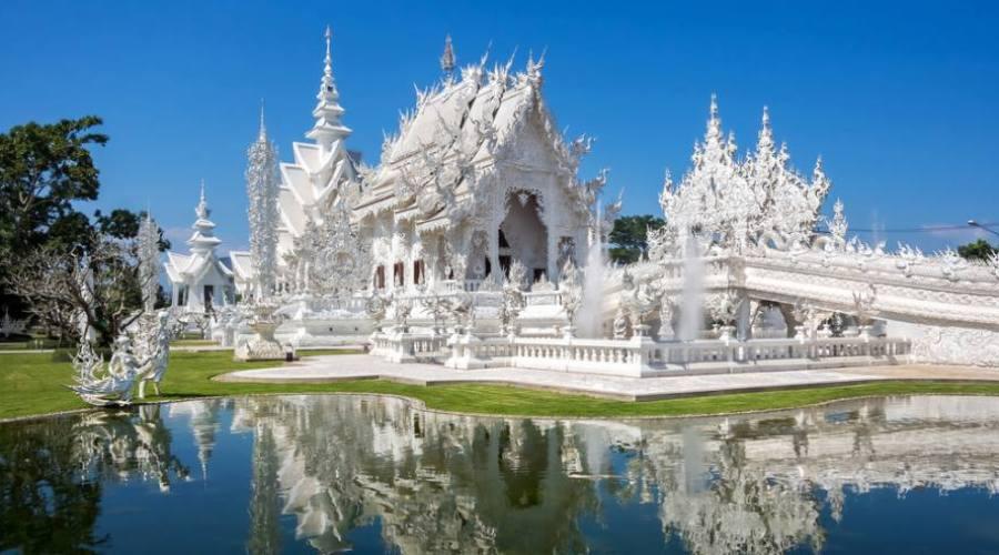 Le temple blanc de Chiang Rai