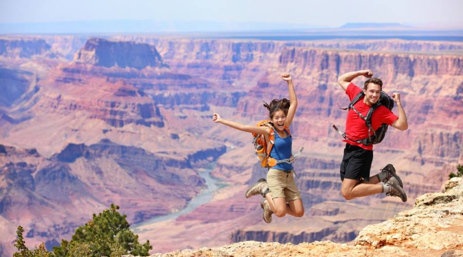 Una foto indimenticabile al Grand Canyon