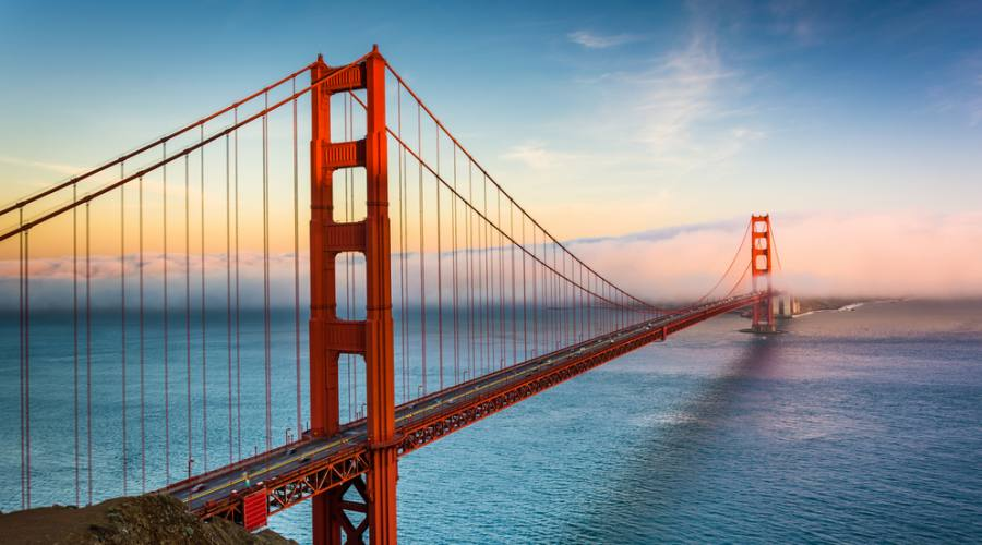 Il Golden Gate a San francisco