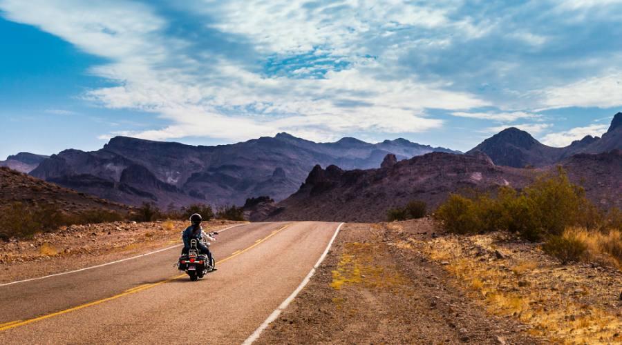 Sarebbe bellissimo fare la Route 66 in moto, no?
