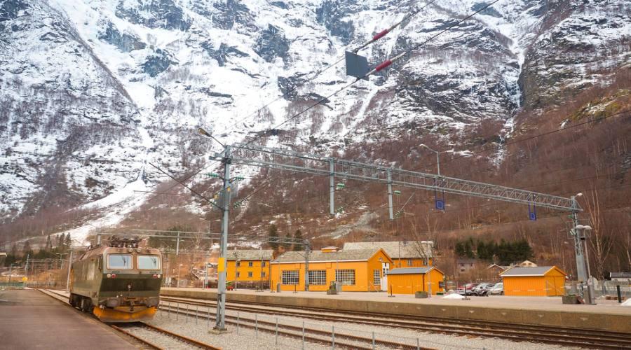 Treno da Flam a Oslo
