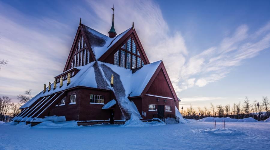 Chiesa di Kiruna, Lapponia Svedese