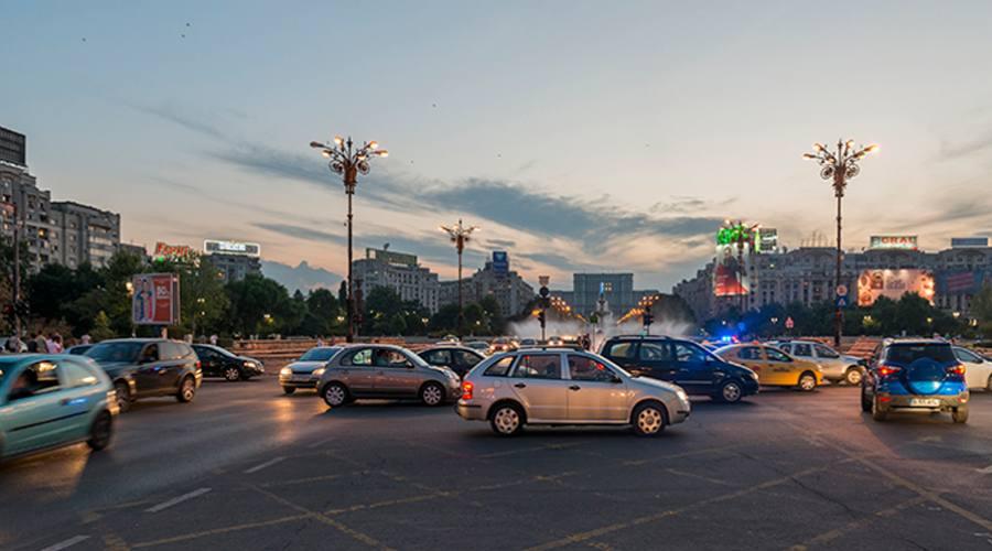 Le strade di Bucarest