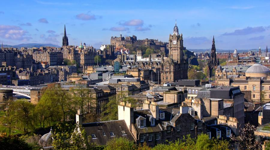 Edimburgo Panorama