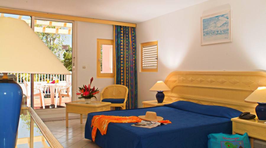 Una delle camere della zona Amandiers