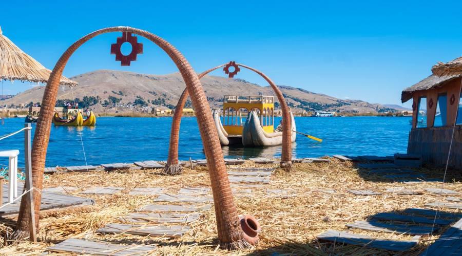 Le isole  galleggianti degli Uru sul lago Titicaca