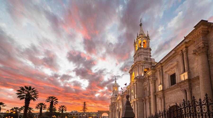 La cattedrale di Arequipa