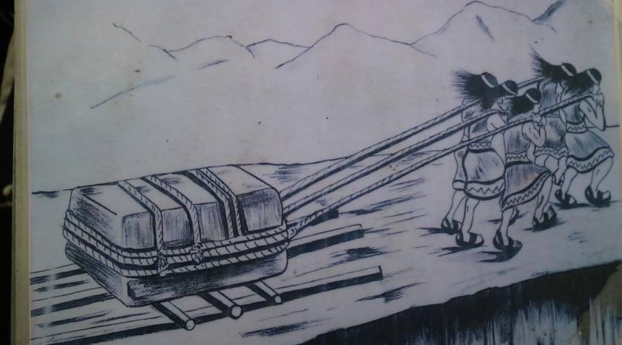 Come gli inca trasportavano i massi per costruire Machu Picchu