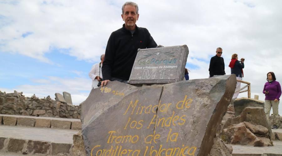 Il mirador de los Andes, un passo a quasi 5000 metri di altezza!