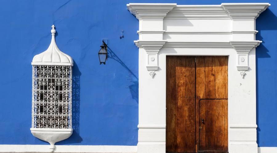 Casa tipica a Trujillo