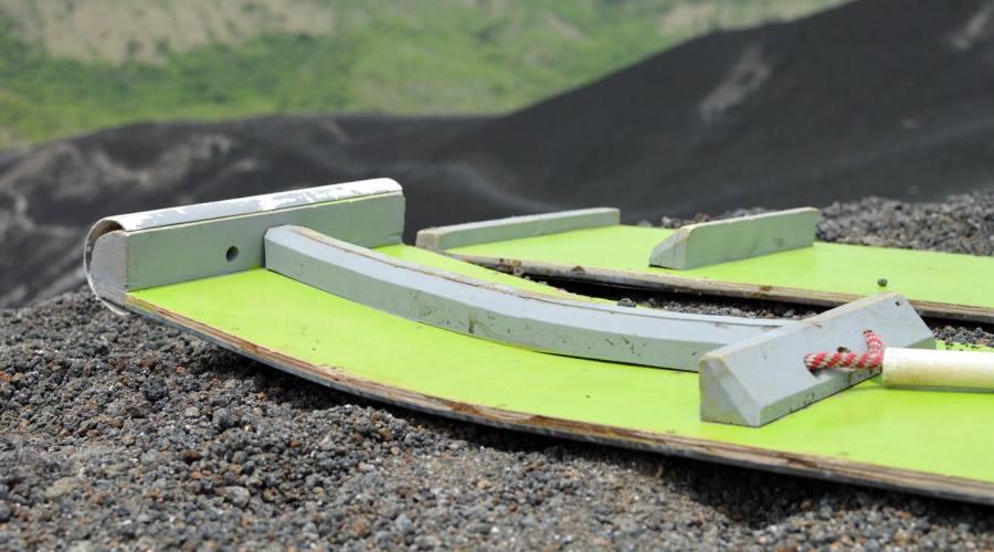 Pronti per la discesa del Cerro Negro?