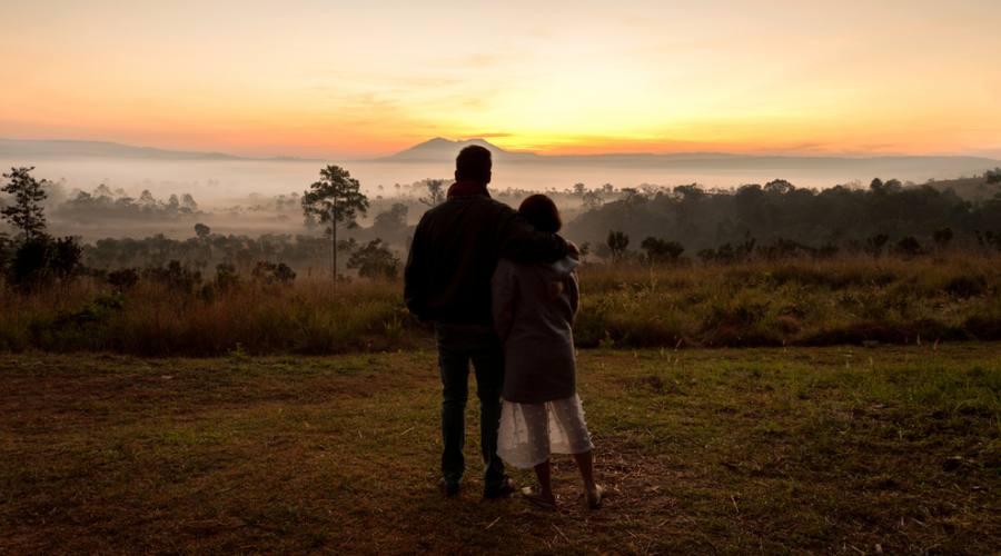 L'alba nella savana... indimenticabile