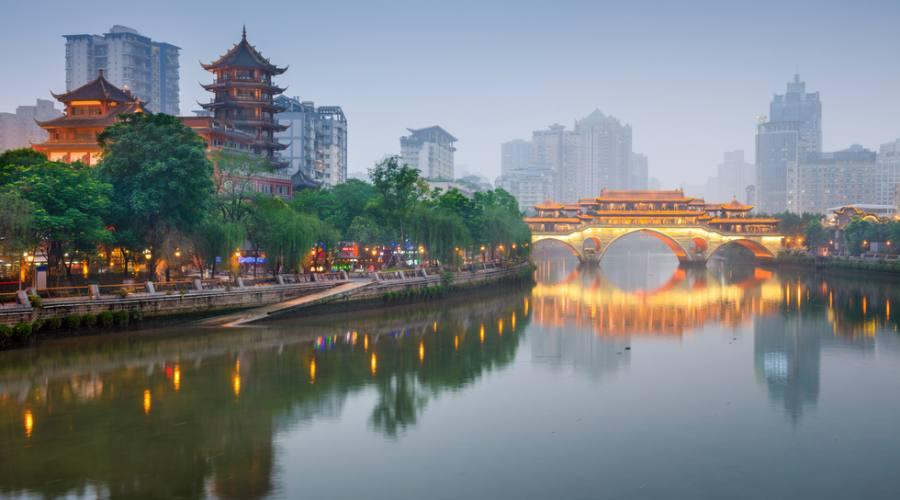 Ponte a Chengdu