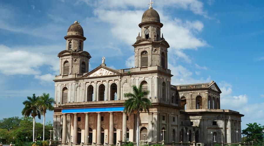 Managua,  la cattedrale