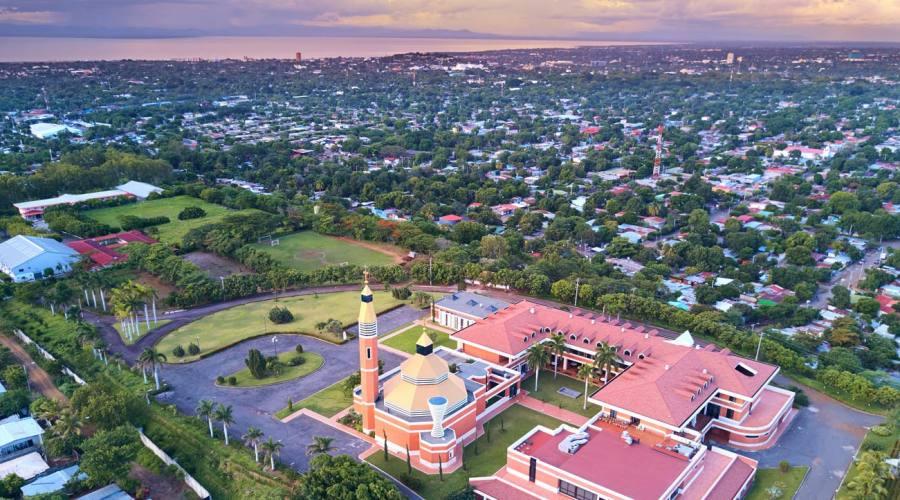 Managua dall'alto
