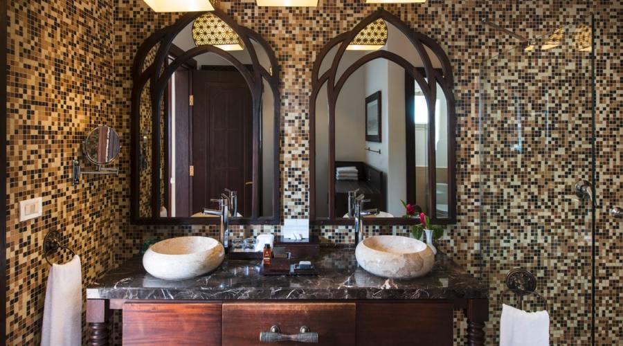 Il bagno della Luxury Junior Suite