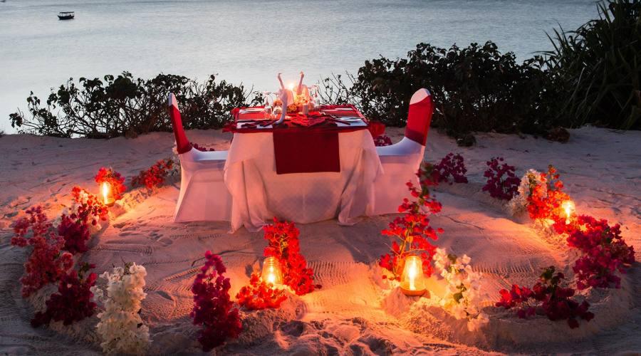 La vostra cena romantica