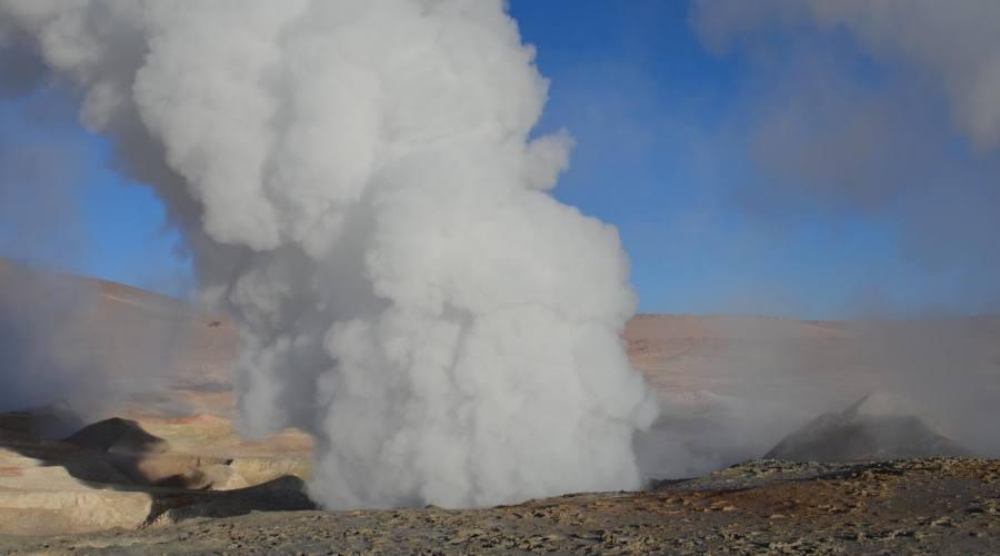 Il geyser Sol de la Mañana