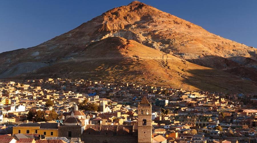 La montagna d'argento a Potosí