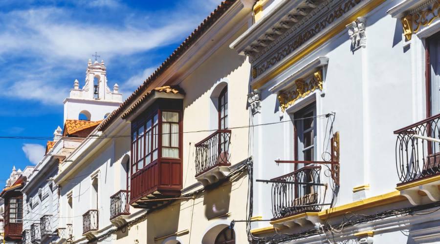 Sucre, edifici coloniali