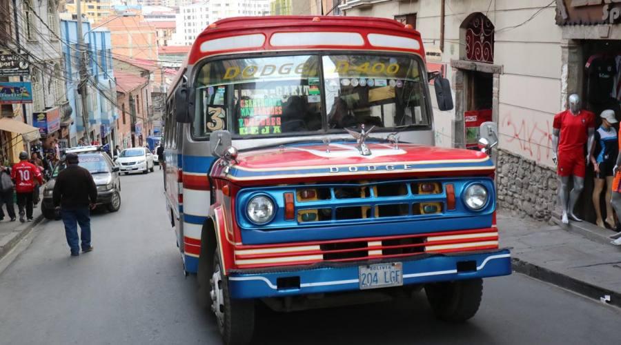 La Paz: traffico cittadino