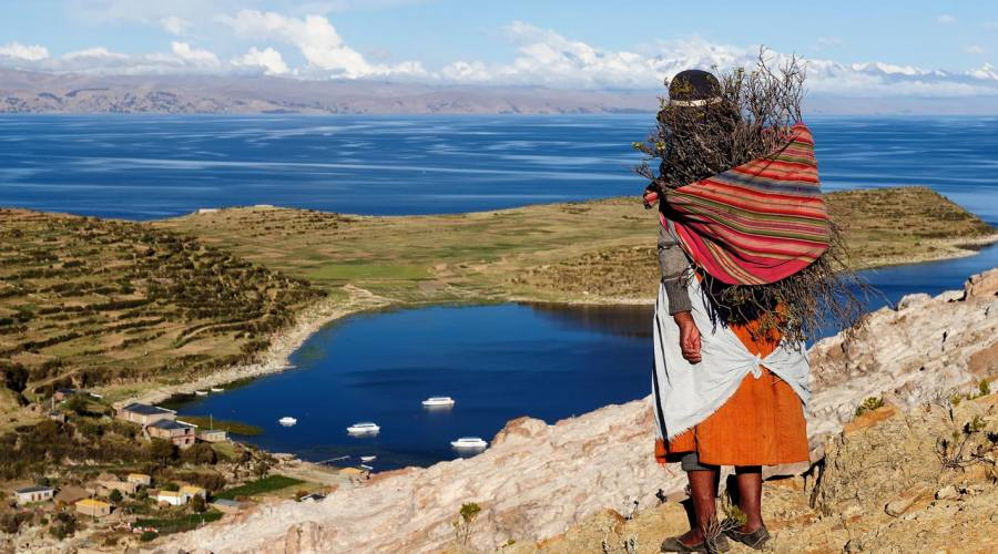 Sul lago Titicaca