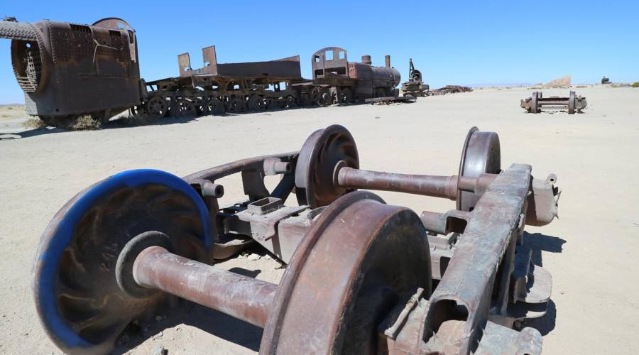 Cimitero delle locomotive
