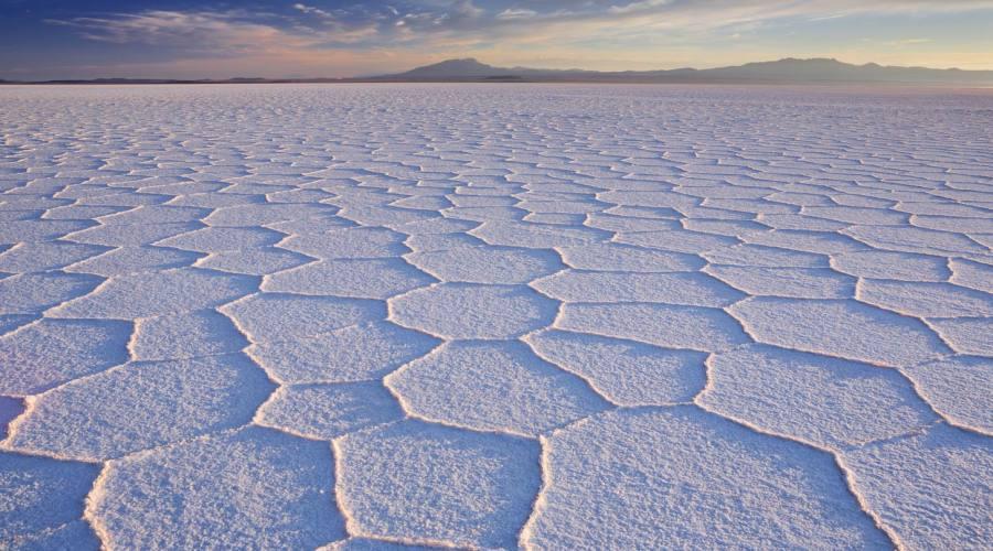 Esagoni di sale