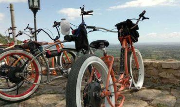Paesaggi e Spiagge Bianche con e-Bike