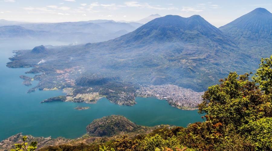 Il lago Atitlan