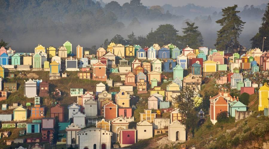 Chichicastenango - il cimitero