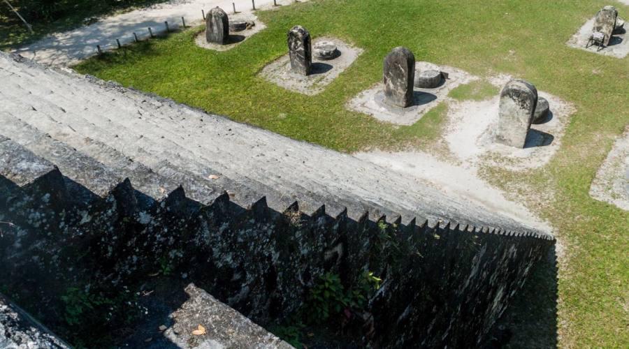 Scalinata di una piramide