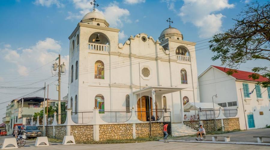 Chiesa sull'Isla de Flores