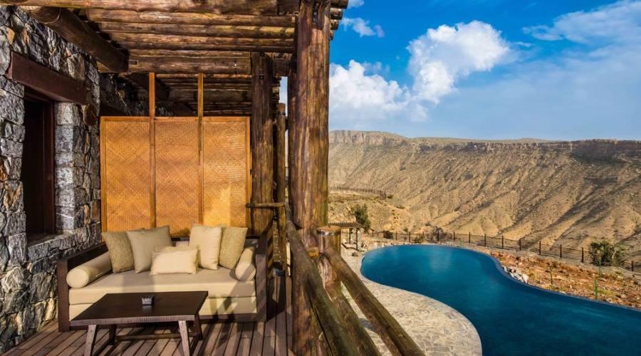 Anantara Resort - terrazza e piscina