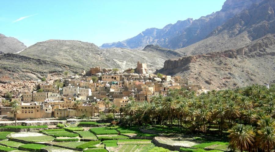 Plateau di rose a Jabal Akhdar