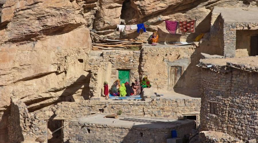 Misfat e case nella roccia