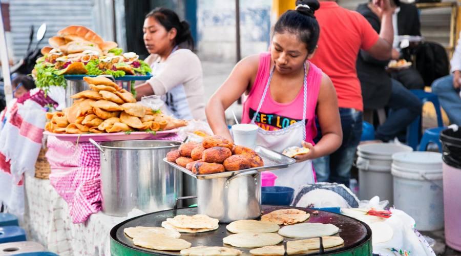 Cucina per le strade di Antigua