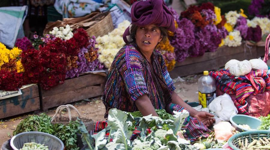 Mercato di fritta e verdura