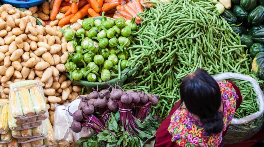 Varietà vegetali al mercato